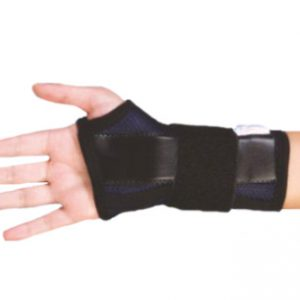 FL1201-Netted Wrist Splint With Support For The Thumb
