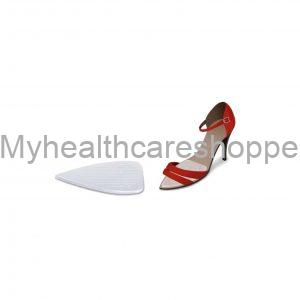 F-00085-00C Pointed High Heeled Shoes Met Protector