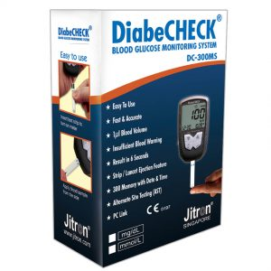 Diabecheck Blood Glucose Monitoring System DC-300MS
