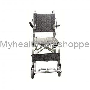 Transit Chair with Silver Frame
