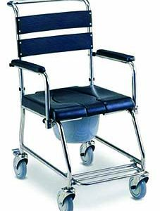 Commode Shower Chair Flip Down Armrest