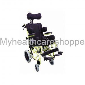 "Pediatric Tilt In Space Wheelchair 15"" With Original Seating System"