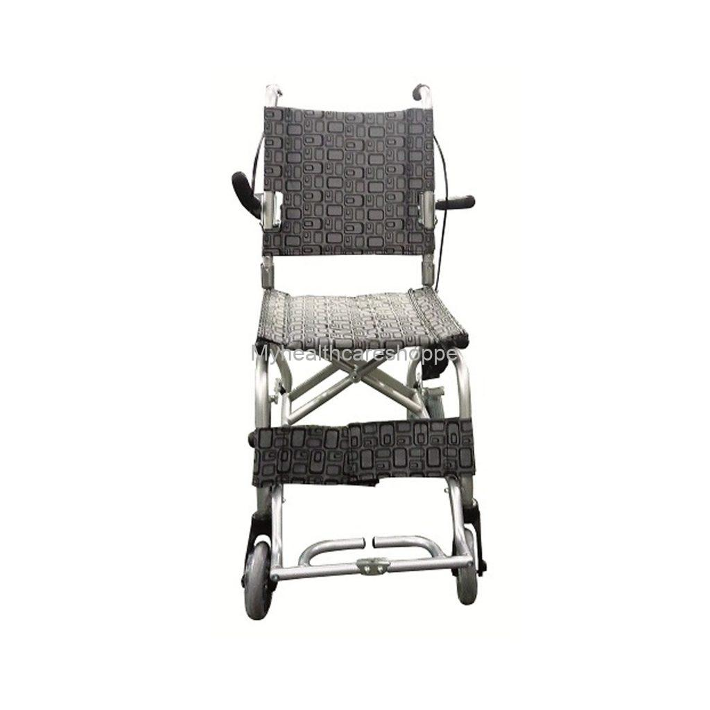 Transit Chair with Silver Frame & AC seat